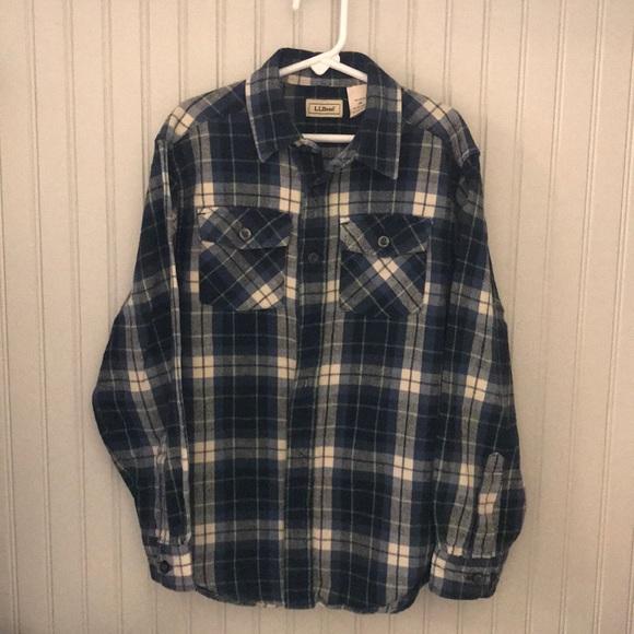 L.L. Bean Other - Boys LLBean flannel button down shirt